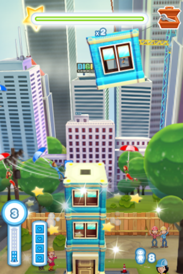 Screenshot Tower Bloxx Deluxe 3D Review